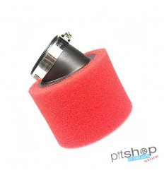 Air filter pitbike sponge 48mm replica uni curved