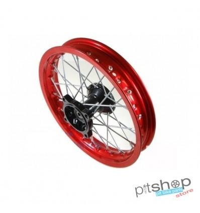 Red Aluminum Cross Wheel For Pit Bike