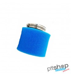 AIR FILTER COPY UNI STRAIGHT 45MM BLUE