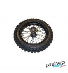 "COMPLETE PIT BIKE WHEEL 12 ""AXLE 12mm"