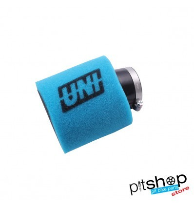 FILTRO AR UNI PIT BIKE 42MM CURVO