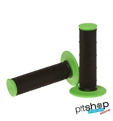 RFX PRO SERIES BLACK/GREEN GRIPS