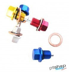 MAGNETIZED CNC PITBIKE OIL DRAIN BOLT