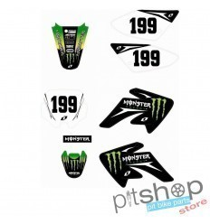 AUTOCOLANTES MONSTER ENERGY CRF70 199