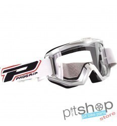 PROGRIP BASE MOTOCROSS GOGGLES WHITE