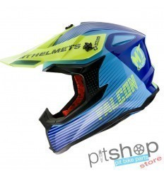 HELMET MT FALCON SYSTEM C3 GLOSS YELLOW
