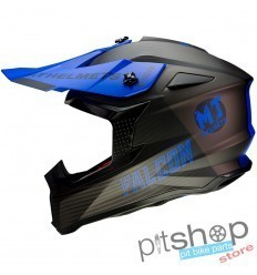 HELMET MT FALCON SYSTEM D7 MATT BLUE