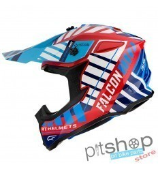 HELMET MT FALCON ENERGY B5 GLOSS RED