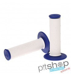 RFX PRO SERIES WHITE/BLUE GRIPS