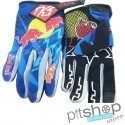 LUVAS CROSS KTM RED BULL BLUE