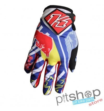 LUVAS CROSS KTM RED BULL