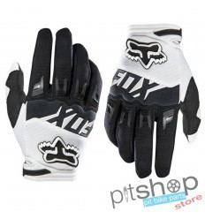FOX DIRTPAW WHITE/BLACK GLOVES