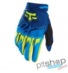 FOX DIRTPAW BLUE/FLUOR GLOVES