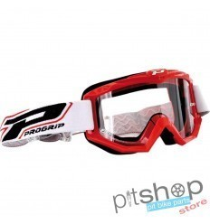 PROGRIP BASE MOTOCROSS GOGGLES RED