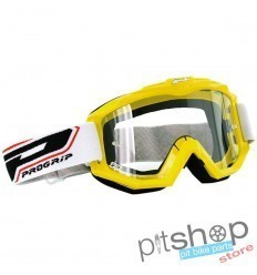 PROGRIP BASE MOTOCROSS GOGGLES YELLOW