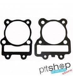YX/ZS 62MM CYLINDER + HEAD GASKETS SET