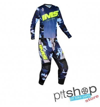 IMS ARMY BLUE/CAMO GEAR SET