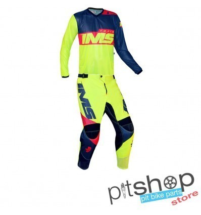 IMS ARMY FLUO/RED GEAR SET