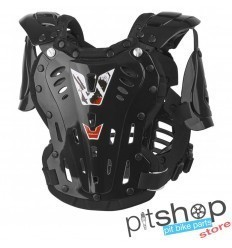 POLISPORT XP1 BLACK YOUTH CHEST PROTECTOR