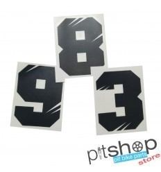 NUMBER PLATE PITBIKE