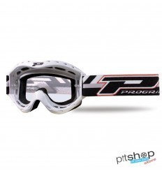 PROGRIP YOUTH MOTOCROSS GOGGLES WHITE
