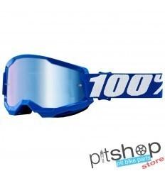 100% STRATA 2 BLUE GOGGLES