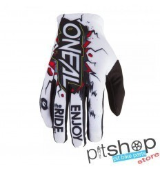 ONEAL MATRIX VILLAIN WHITE YOUTH GLOVES