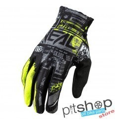 ONEAL MATRIX RIDE BLACK/NEON GLOVES