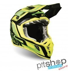 PROGRIP 3180 GREEN/YELLOW FLUO HELMET