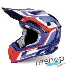 PROGRIP 3180 BLUE/RED HELMET