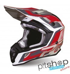 PROGRIP 3180 GRAY/RED HELMET