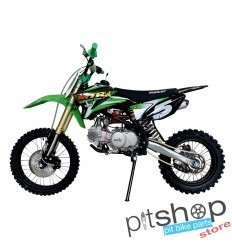 Green MTR XM 140cc Pitbike With 17/14""