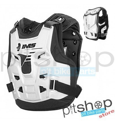 IMS Power White Chest Protector