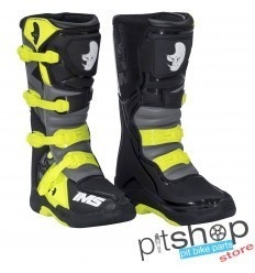 Botas Cross IMS Factory Preto/Fluor