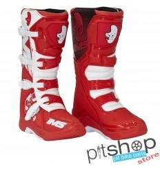 IMS Factory Red/White Motocross Boots