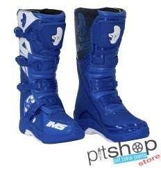 IMS Factory Blue/White Motocross Boots