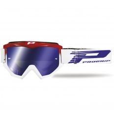 PROGRIP ATZAKI Red/White Motocross Goggles