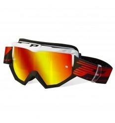 PROGRIP ATZAKI White/Black Motocross Goggles
