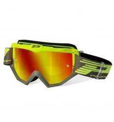 PROGRIP ATZAKI Green/Grey Motocross Goggles
