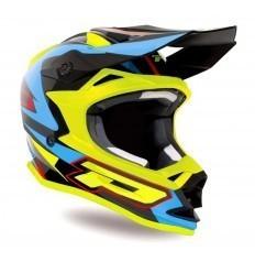 PROGRIP 3191 Turquoise/Yellow Fluo Helmet