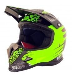 Green Helmet shiro ALIEN NATION MX 308 KIDS