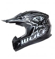 Black Flite Extra WULFSPORT Child Helmet