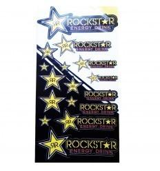 ROCKSTAR Stickers Sheet