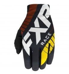FXR Slip-On Lite Black MX Gloves