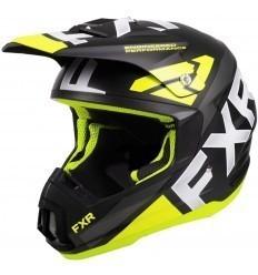 Black/Yellow TORQUE TEAM FXR Helmet