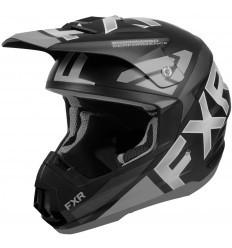 Black/Grey TORQUE TEAM FXR Helmet