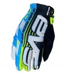 Luvas EVS Pro Speedway Blue/Neon