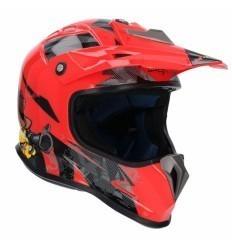 Red Kids MTR SHIRO MX Helmet