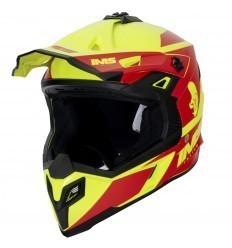 IMS Sprint 21 Red/Fluor Helmet