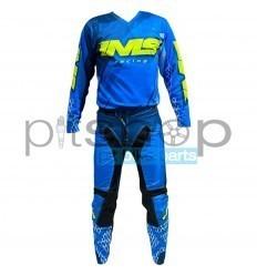 2022 Blue/Fluo/Black IMS Army Gear Set